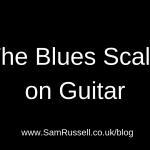 how to play the blues scale on guitar